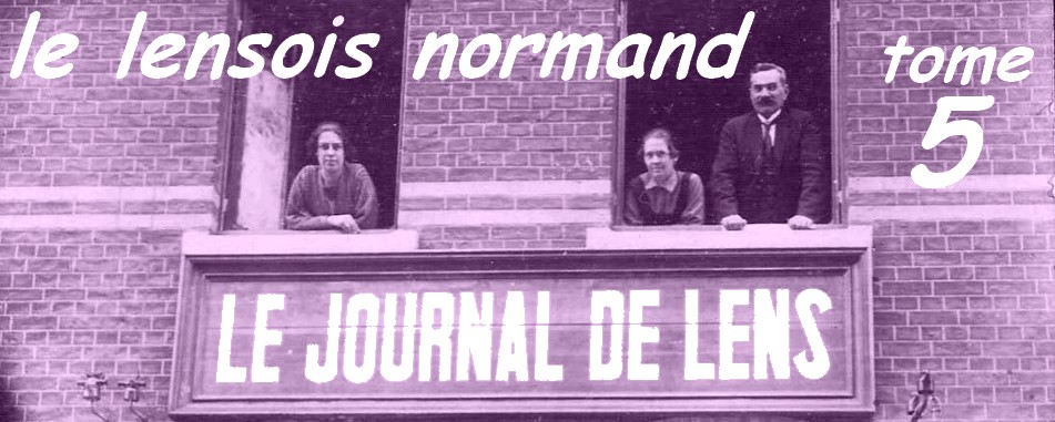Le Lensois Normand Tome 5
