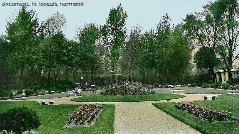 Le jardin public de lens le lensois normand tome 5 for Jardin public