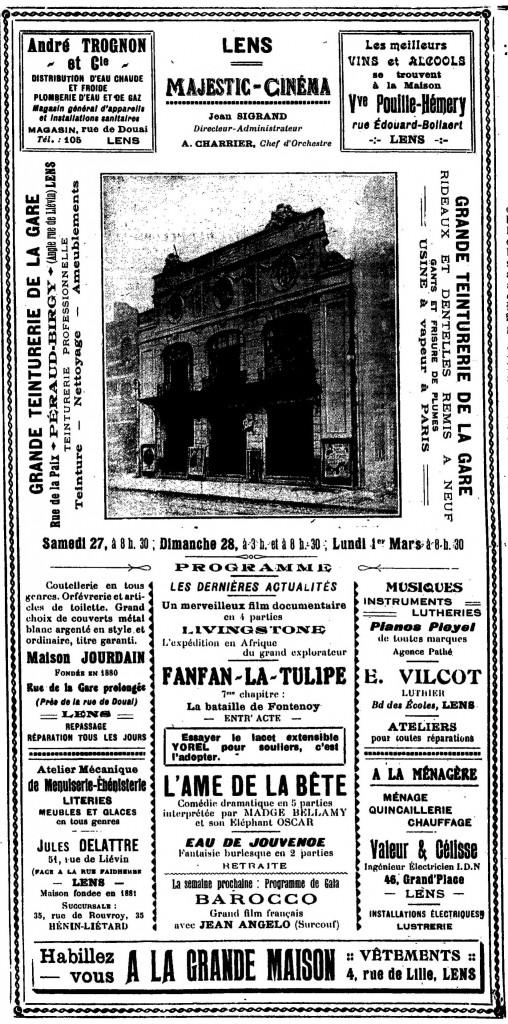 programme 1926
