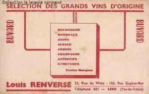 renversé vins